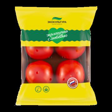 Round red tomato