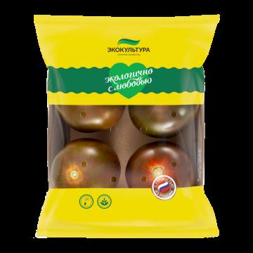 Round brown tomato